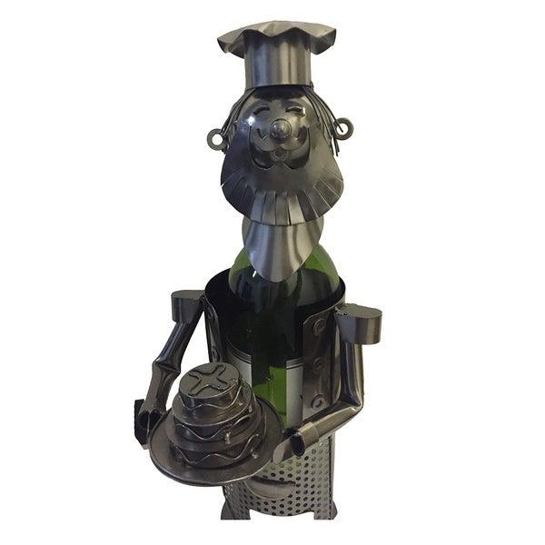 Wine Caddy Threestar Caddy Chef Wine Bottle Holder