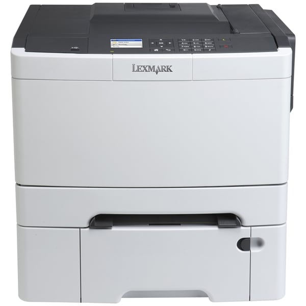 Lexmark CS410DTN Laser Printer - Color - 2400 x 600 dpi Print - Plain
