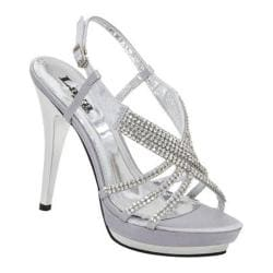 Women&39s Lava Shoes Alexa Silver Satin - Free Shipping On Orders