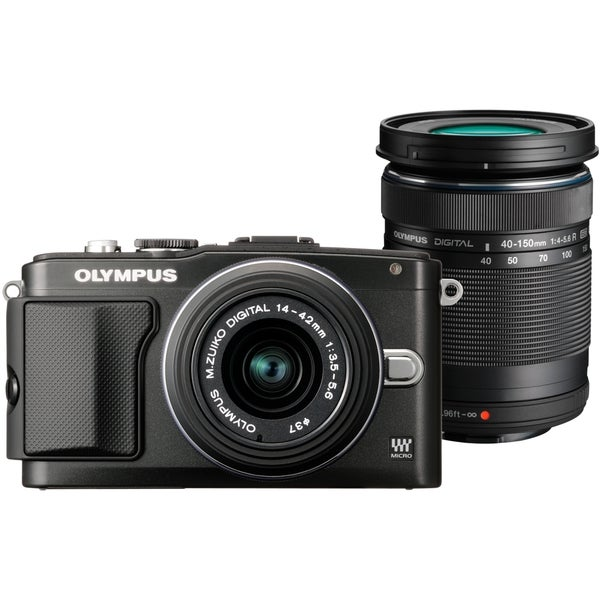 Olympus PEN E-PL5 16.1 Megapixel Mirrorless Camera with Lens - 14 mm