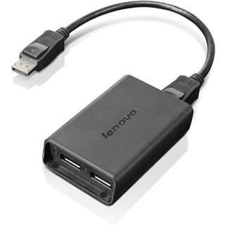 Lenovo DisplayPort to Dual-DisplayPort Adapter