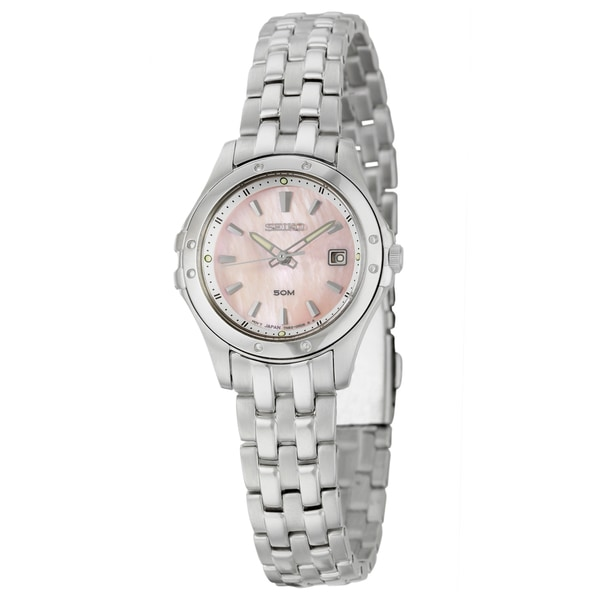 Seiko Women's Stainless Steel 'Le Grand Sport' Watch