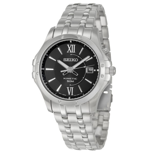 Seiko Men's 'Le Grand Sport' Stainless Steel Quartz Watch