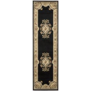 Nourison Chateau Black Wool-blend Rug (33 x 53)