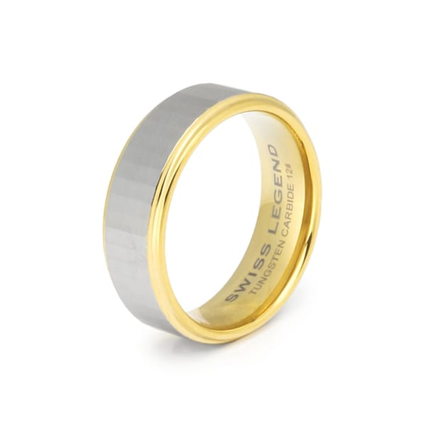 Swiss Legend Men's Two-tone Steel Ring