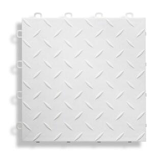 BlockTile Garage Flooring Interlocking Diamond Top Tiles (Pack of 27)