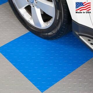BlockTile Garage Flooring Interlocking Tiles Diamond Top (Pack of 27)