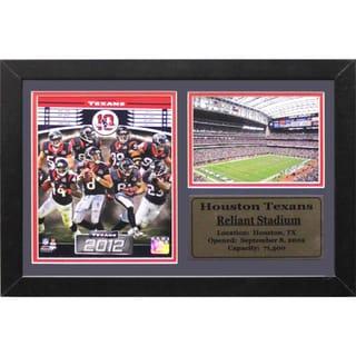 2013 Houston Texans Reliant Stadium Photo/Stat Frame (12 x 18)