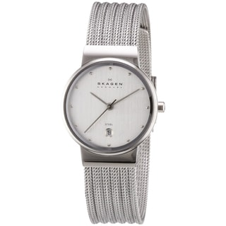 Skagen Women's Steel Striped Mesh Watch