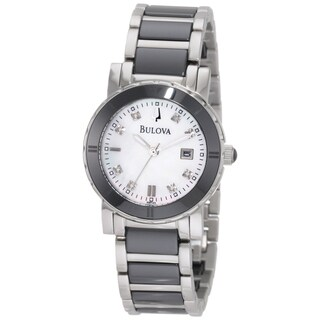 Bulova Women's 98P122 Stainless Steel 'Highbridge' Watch