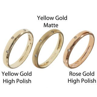 Michael Valitutti 10k Yellow or Rose Gold Stackable Diamond Ring|https://ak1.ostkcdn.com/images/products/7549461/7549461/Michael-Valitutti-10k-Yellow-or-Rose-Gold-Stackable-Diamond-Ring-P14982597.jpeg?impolicy=medium