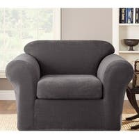 Shop Stretch Jersey Chair Slipcover Free Shipping On