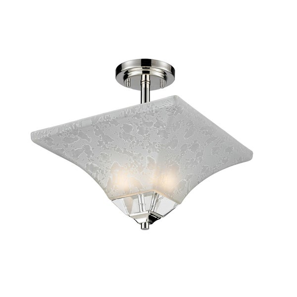 Pershing Semi-Flush Light Fixture