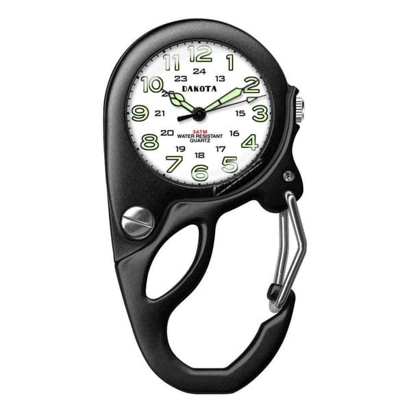 Men's Alloy Magnifier Mini-clip Watch