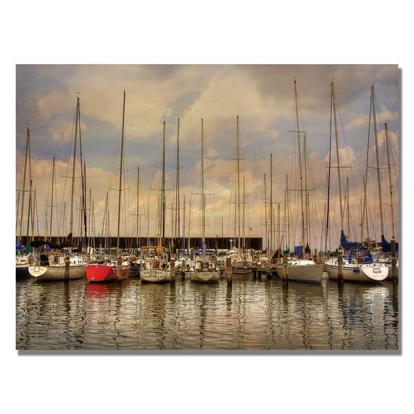 Lois Bryan 'Come Sail Away' Canvas Art