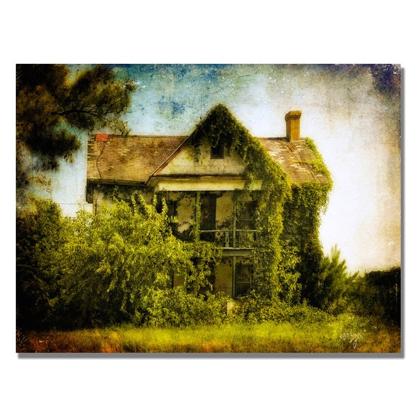 Lois Bryan 'Ivy House' Canvas Art