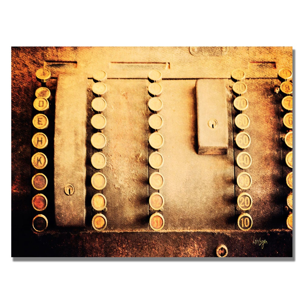 Trademark Lois Bryan 'Cash Out' Canvas Art (30 in. H x 47...