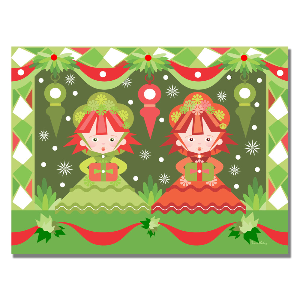 Trademark Grace Riley 'Baby's First Christmas II' Canvas ...