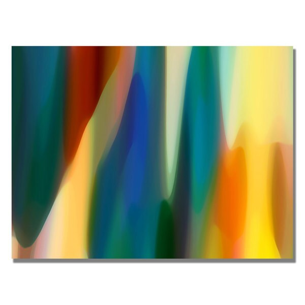Amy Vangsgard 'Color Fury IV' Canvas Art