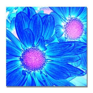 Amy Vangsgard 'Pop Daisies VI' Canvas Art