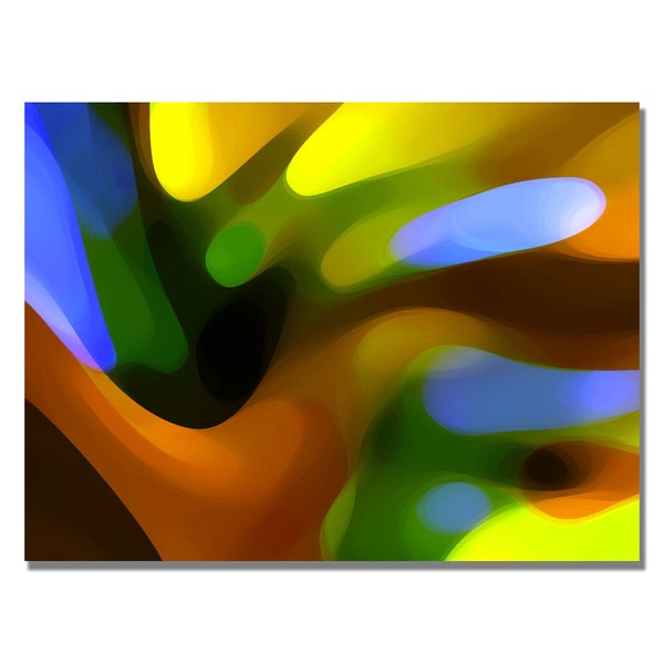 Amy Vangsgard 'Amy Tree Light' Canvas Art