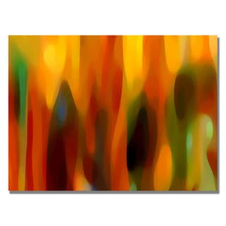 Amy Vangsgard 'Forest Sunlight Horizontal' Canvas Art