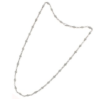Nexte Jewelry Silvertone Chain Necklace