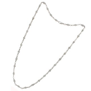Nexte Jewelry Silvertone Chain Necklace