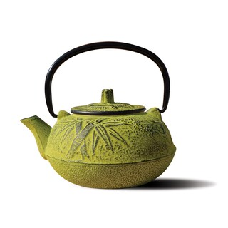 Old Dutch Tetsubin Osaka 20-ounce Teapot (Option: Moss Green)