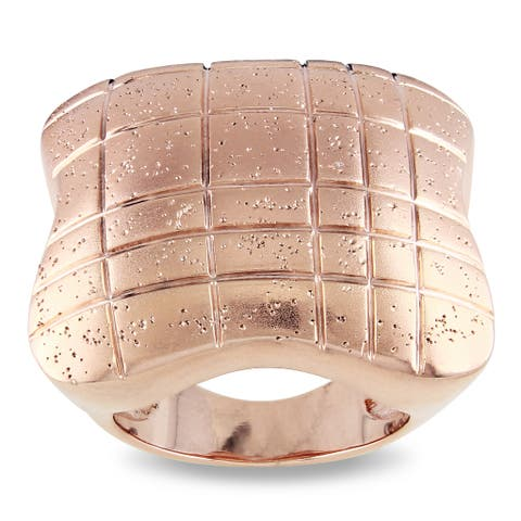Miadora 18k Rose-gold Plated Cocktail Ring