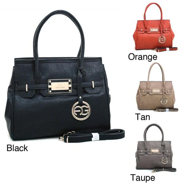 Anais Gvani Structured Satchel Bag