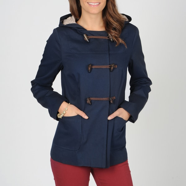 CoffeeShop Junior's Navy Blue Toggle Jacket