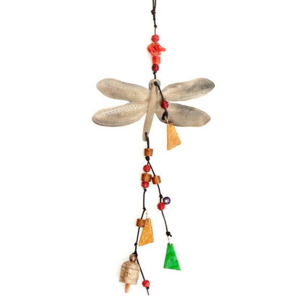 Handmade Dragonfly Dreams Wind Chime (India)