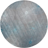 Oliver & James Piet Hand-tufted Wool and Viscose Area Rug - 8' Round