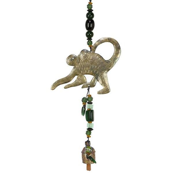 Handmade Monkey Around Wind Chime (India)