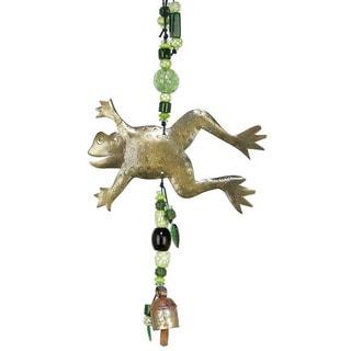 Handmade Hoppity, Hoppity Frog Wind Chime (India)