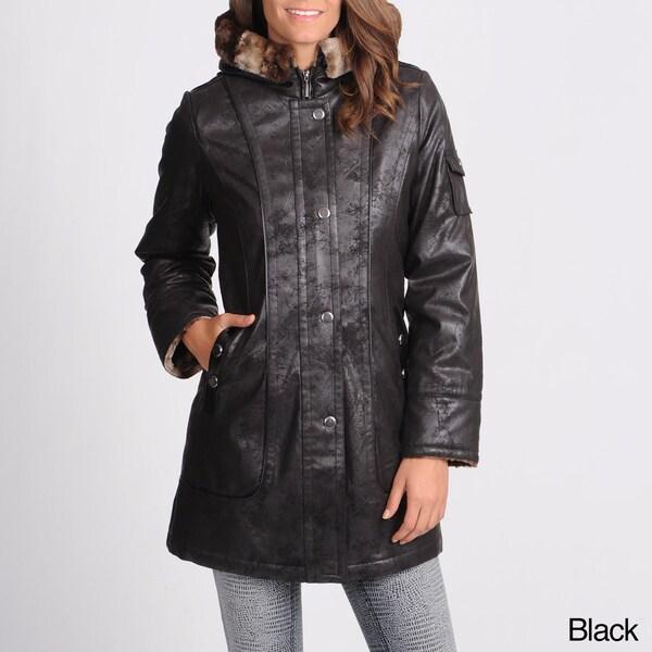 Women's Napa Faux Shearling Coat