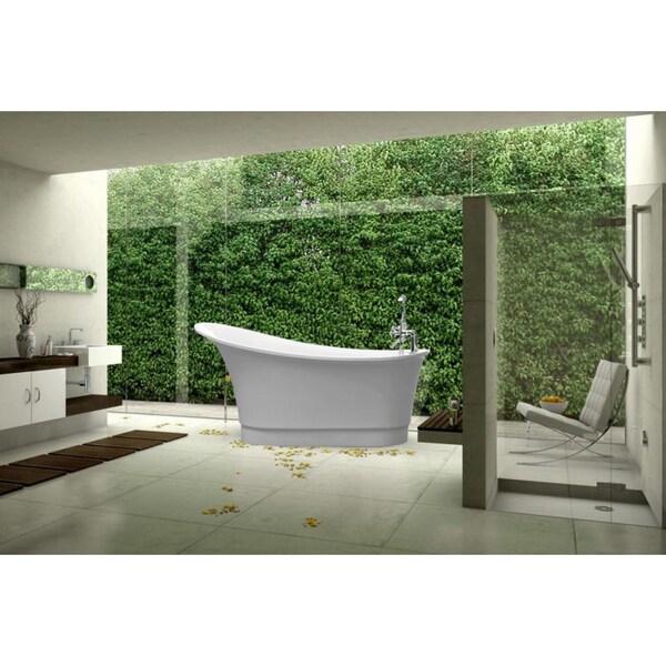 Aquatica PureScape 060 Acrylic Freestanding Bathtub