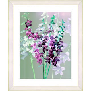 Studio Works Modern 'Bells from Tucapel - Purple Blue' Framed Giclee Print
