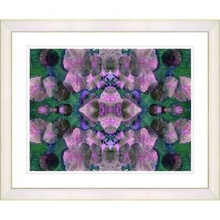 Studio Works Modern 'Dance of the Pixies - Pink' Framed Giclee Print
