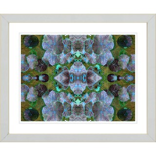 Studio Works Modern 'Dance of the Pixies - Blue' Framed Giclee Print