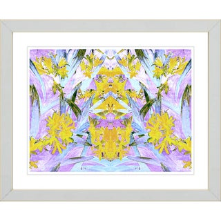 Studio Works Modern 'Easter Lilies' Framed Giclee Print