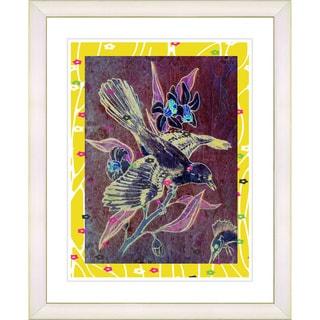 Studio Works Modern 'Mockingbird' Framed Giclee Print