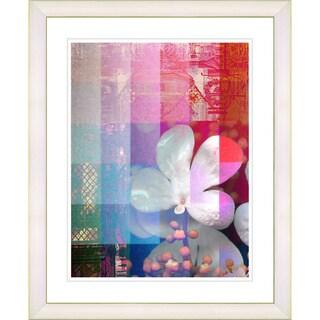 Studio Works Modern 'Chelsea Flower' Framed Giclee Print