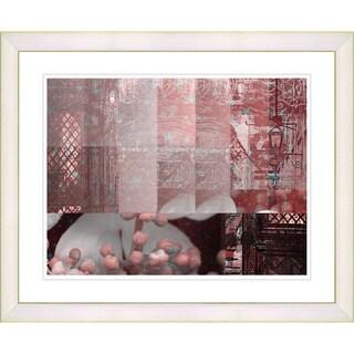 Studio Works Modern 'Urban Puzzle' Framed Giclee Print