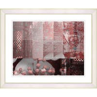 Studio Works Modern 'Urban Puzzle' Framed Giclee Print