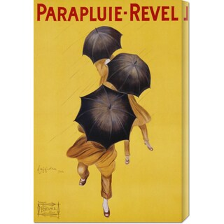 Global Gallery Leonetto Cappiello 'Parapluie-Revel, 1922' Stretched Canvas Art