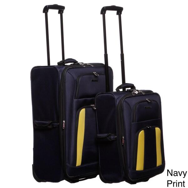 Leisure Featherlite 2-piece Luggage Set
