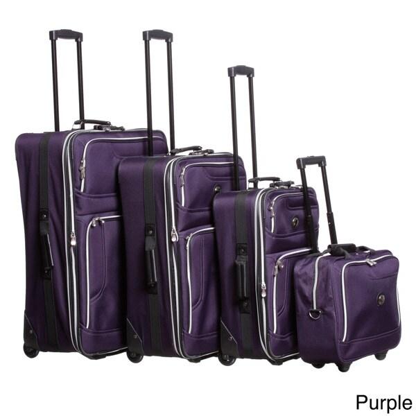 Leisure Luggage 4050-4 Rio 4-piece Luggage Set