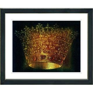 Studio Works Modern 'Crown' Framed Print